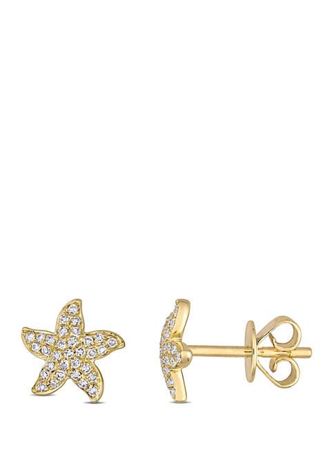 Belk & Co. 1/8 ct. t.w. Diamond Starfish