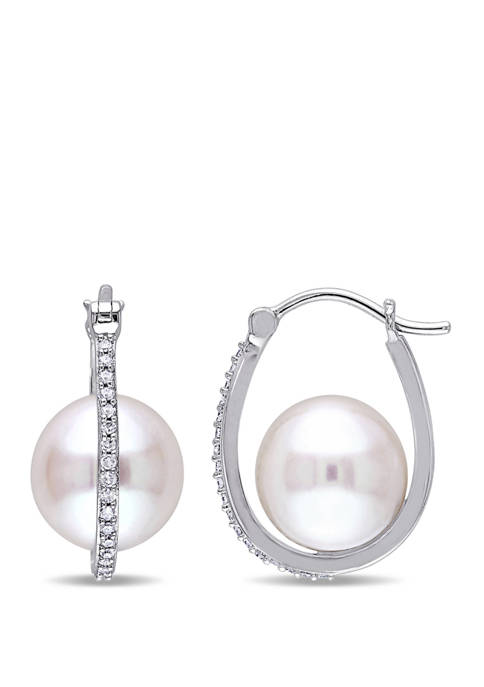 Belk & Co. Pearl and 1/7 ct. t.w.