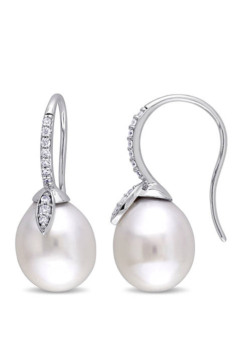 Belk & Co. Pearl and 1/5 ct. t.w.