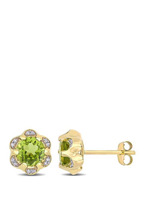 Belk & Co. 1.8 ct. t.w. Peridot and