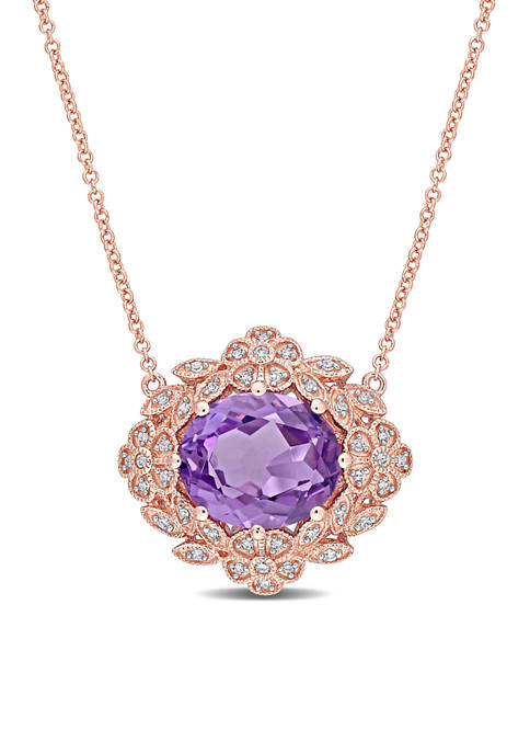 Belk & Co. 4 ct. t.w. Amethyst and