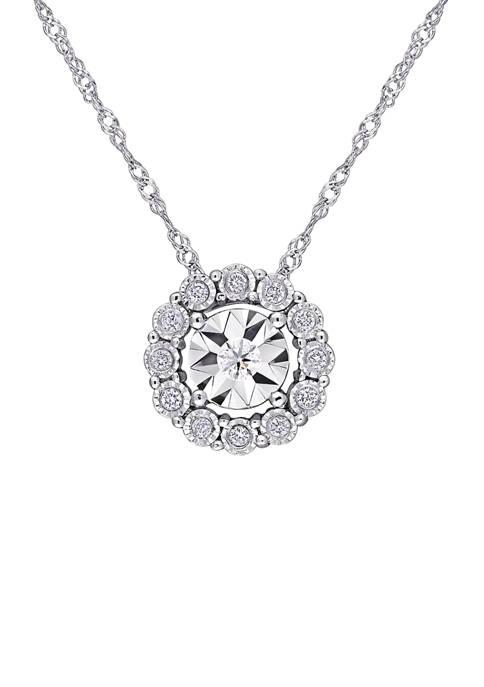 Belk & Co. 1/8 ct. t.w. Diamond Cluster