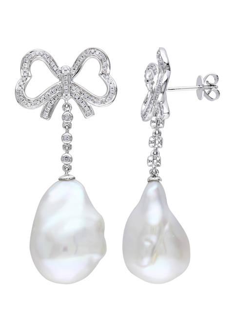 Belk & Co. 13-13.5 Millimeter Cultured Freshwater Pearl