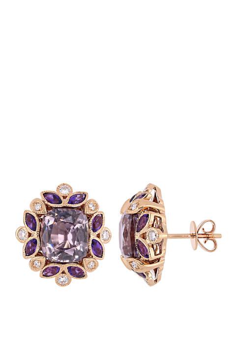 Belk & Co. 8.2 ct. t.w. Violet Spinel