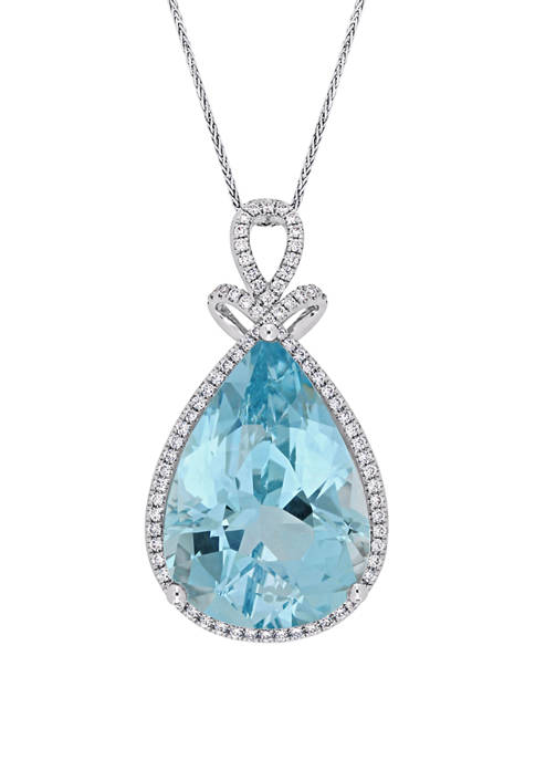 Belk & Co. 24.8 ct. t.w. Blue Topaz