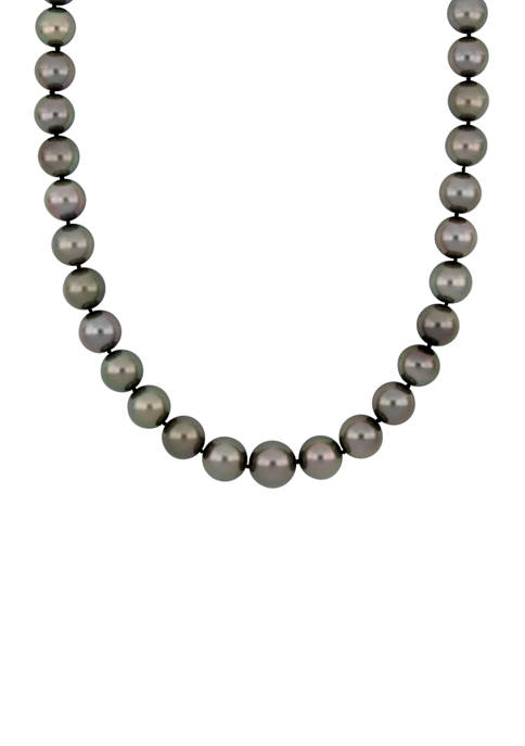 Belk & Co. 10-12.5 Millimeter Cultured Tahitian Pearl