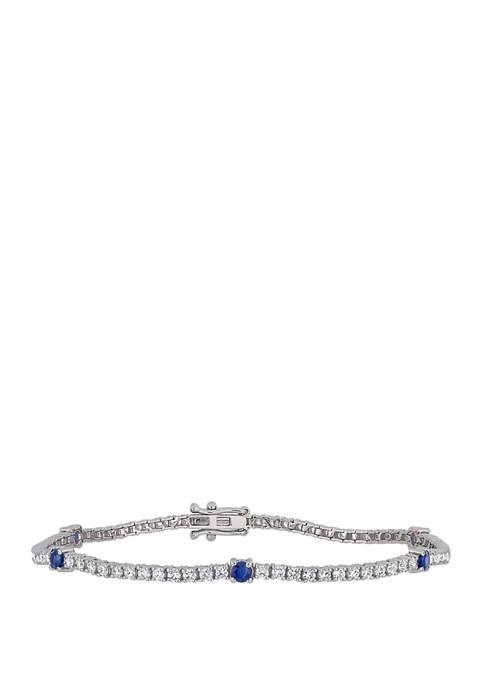 Belk & Co. 4/5 ct. t.w. Blue Sapphire
