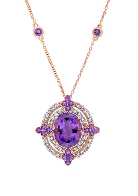 Belk & Co. 5 ct. t.w. Amethyst and