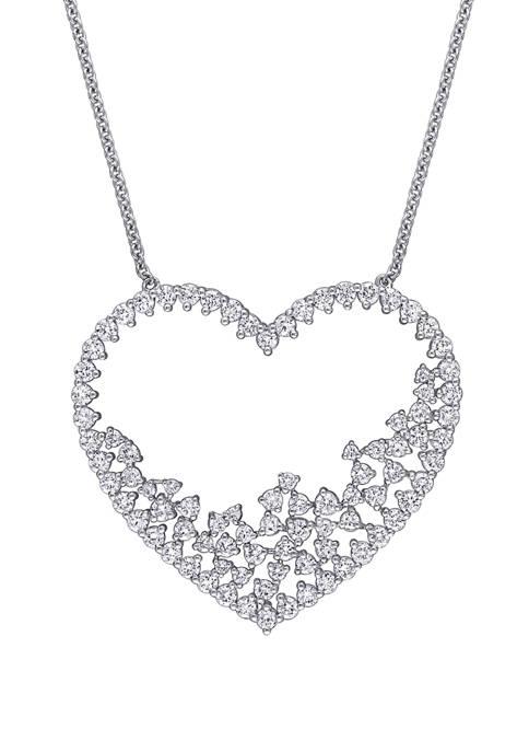 Belk & Co. 3 ct. t.w. Diamond Heart