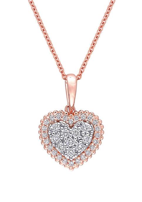 Belk & Co. 3/8 ct. t.w. Diamond Heart