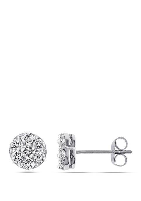 Belk & Co. 4/5 ct. t.w. Diamond Cluster