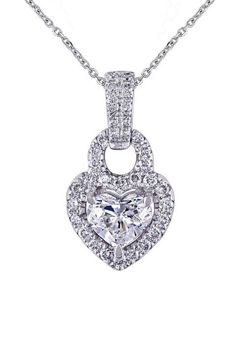 Belk & Co. 1 ct. t.w. Diamond Heart