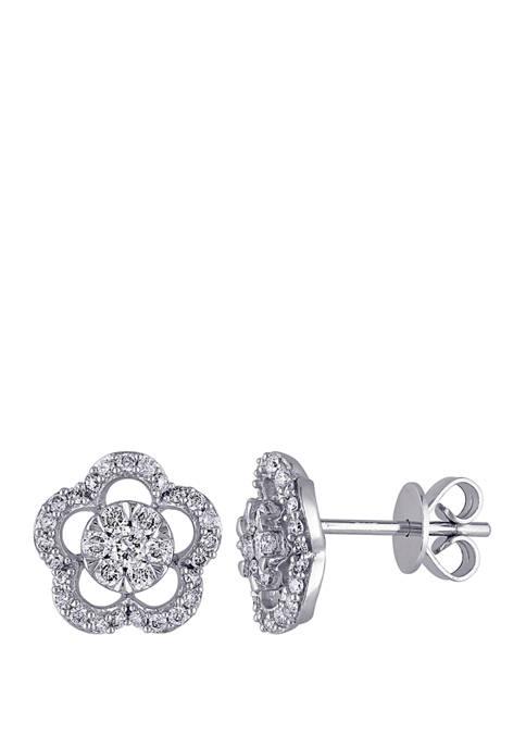 Belk & Co. 1/2 ct. t.w. Diamond Flower