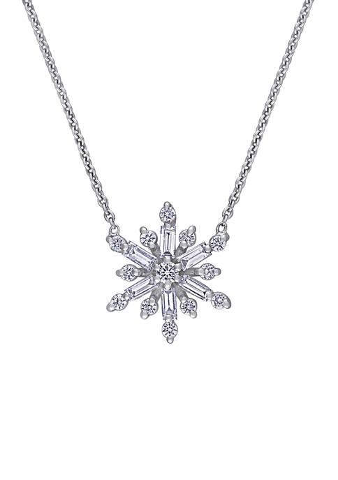 Belk & Co. 1/2 ct. t.w. Diamond Snowflake