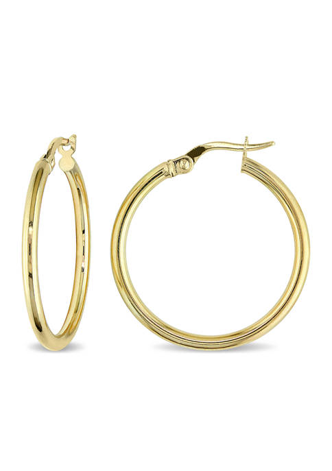 Belk & Co. Hoop Earrings in 10K Polished