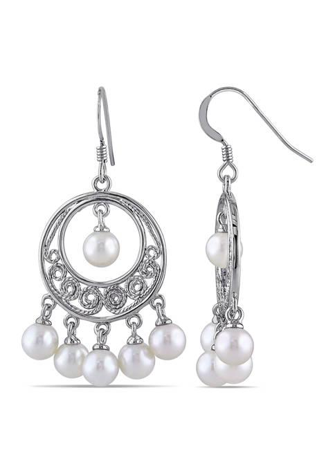 Belk & Co. Cultured Freshwater Pearl Chandelier Earrings