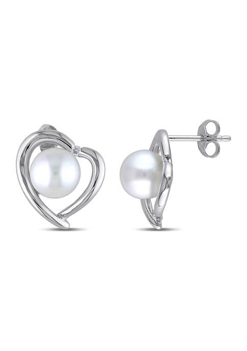 Belk & Co. 8-8.5 Millimeter Cultured Freshwater Pearl
