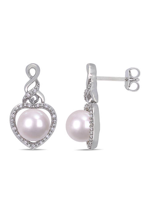 Belk & Co. Cultured Freshwater Pearl and 1/10