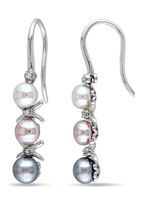 Belk & Co. Multi-Color Cultured Freshwater Pearl and