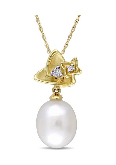 Belk & Co. 10-10.5 Millimeter Cultured Freshwater Pearl