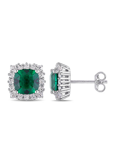 Belk & Co. Created Emerald and Created White