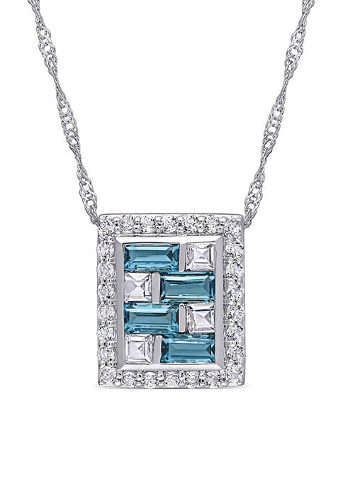 Belk & Co. 2.14 ct. t.w. Blue and