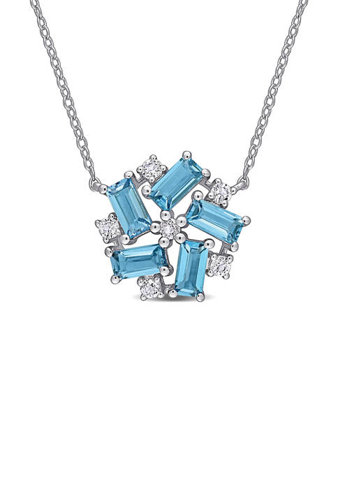 Belk & Co. 2.6 ct. t.w. Blue and