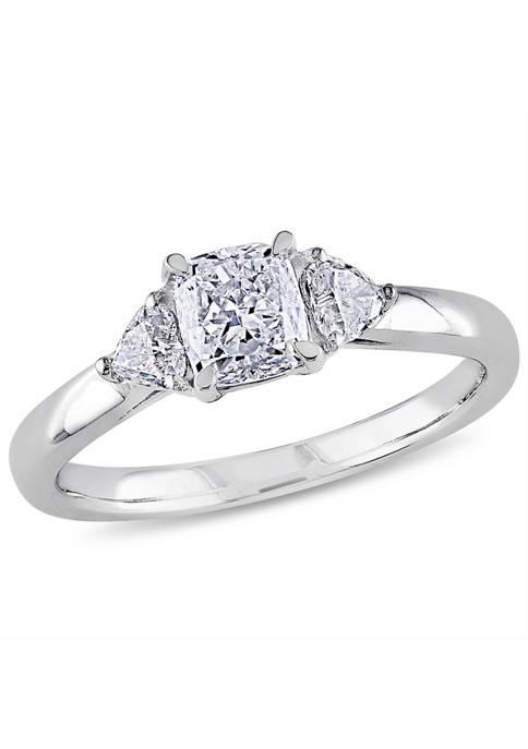 Belk & Co. 1 ct. t.w. Diamond Cushion