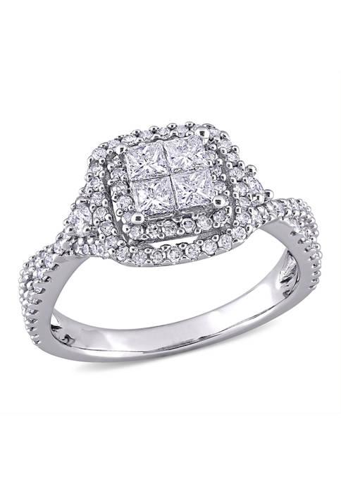 Belk & Co. 1 ct. t.w. Diamond Princess-Cut