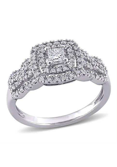 Belk & Co. 1/2 ct. t.w. Diamond Princess-Cut