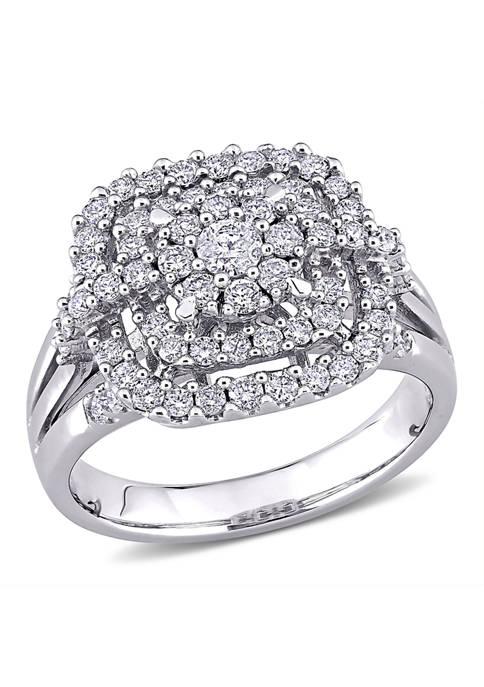 Belk & Co. 1 ct. t.w. Diamond Cluster