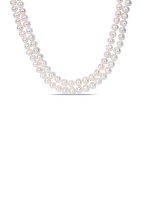 Belk & Co. 9-10 MM Freshwater Cultured Pearl