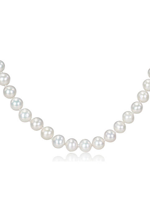 Belk & Co. 7-7.5MM Freshwater Cultured Pearl 18""
