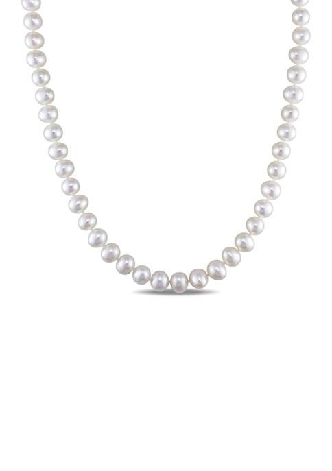 Belk & Co. 6.5-7 MM Freshwater Cultured Pearl