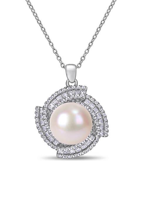 Belk & Co. 12-12.5 MM Cultured Freshwater Pearl