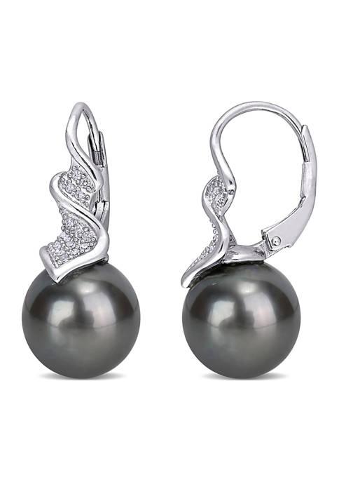 Belk & Co. 9-9.5 MM Tahitian Cultured Pearl