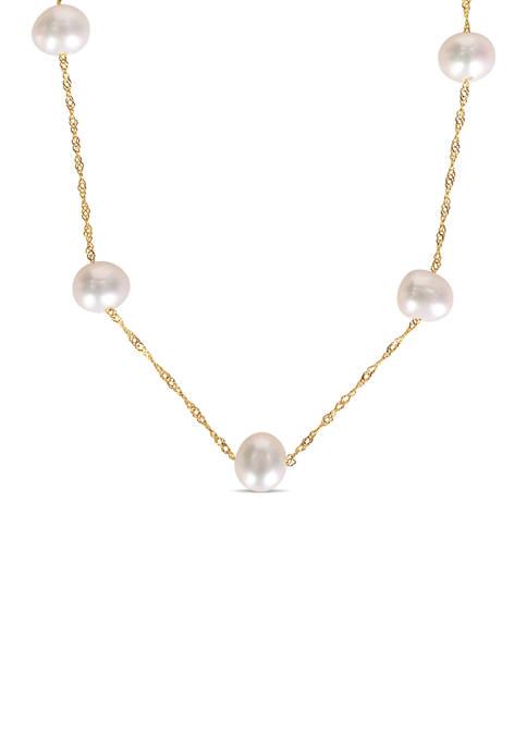 Belk & Co. 5.5-6 Millimeter Cultured Freshwater Pearl