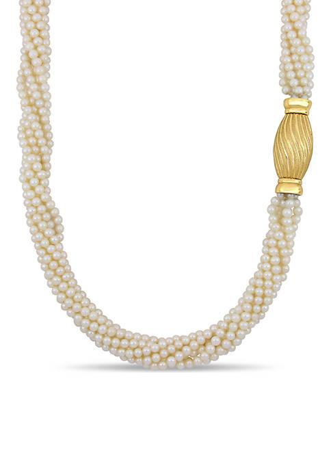 Belk & Co. 4.5-5 Millimeter Freshwater Cultured Pearl