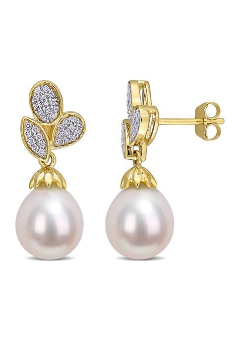 Belk & Co. 9-9.5 Millimeter Freshwater Cultured Pearl