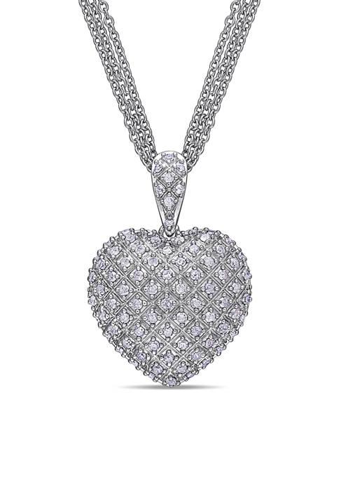 Belk & Co. 1 ct. t.w. Diamond Clustered