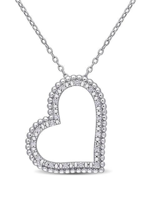 Belk & Co. 1/10 ct. t.w. Diamond Tilted