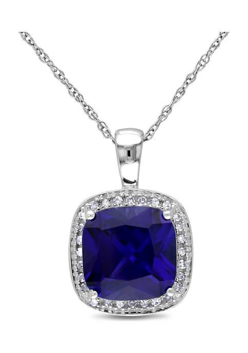 Belk & Co. 3.8 ct. t.w. Created Sapphire