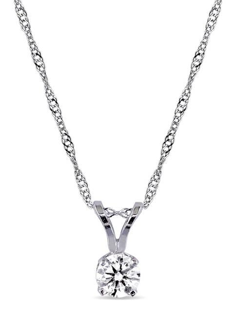 Belk & Co. 1/4 ct. t.w. Diamond Solitaire