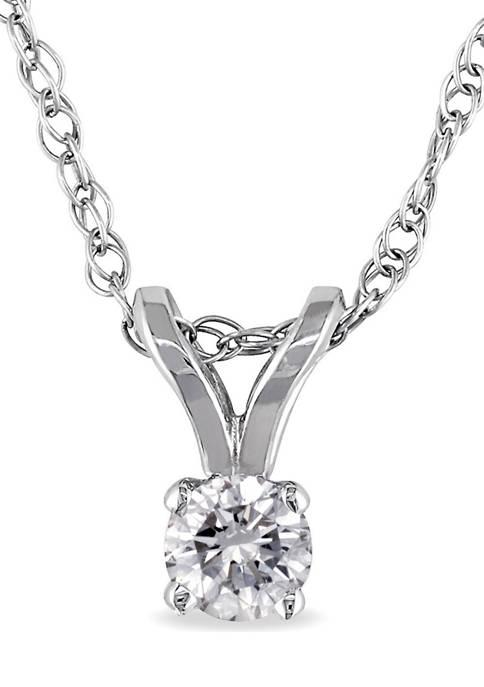 Belk & Co. 1/10 ct. t.w. Diamond Solitaire