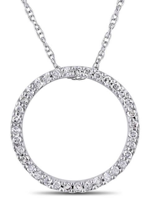 Belk & Co. 1/8 ct. t.w. Diamond Circle