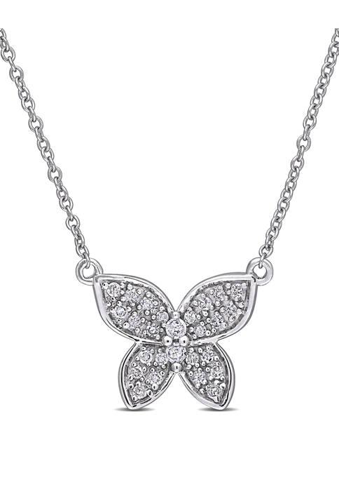 Belk & Co. 1/8 ct. t.w. Diamond Butterfly