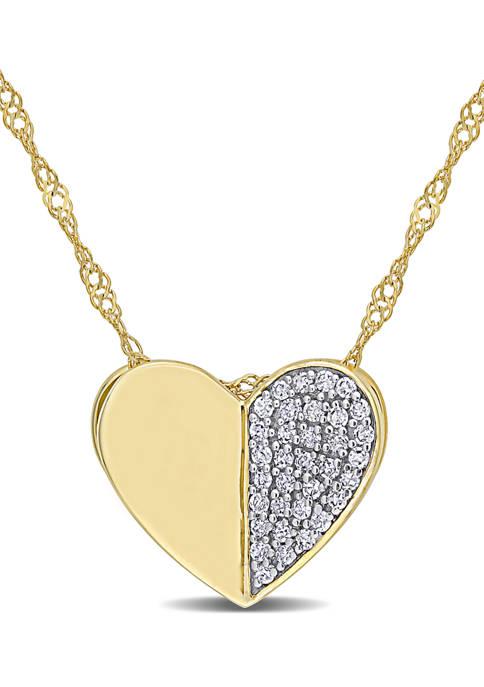 Belk & Co. 1/10 ct. t.w. Diamond Cluster