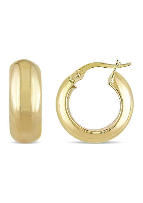 Belk & Co. 17 mm Hoop Earrings in