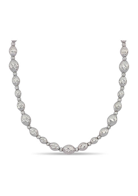 Belk & Co. Link Chain Necklace in 18k