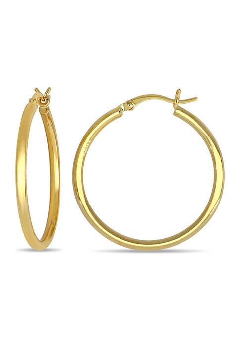 Belk & Co. 30 mm Hoop Earrings in